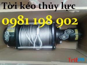 Tời kéo thủy lực LDH 10000, tời kéo thủy lực LDH 15000 giá rẻ tại Hà Nội