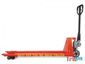 Giá xe nâng tay 3 tấn - quận 8 tphcm Hoài Thanh 0913 819 238