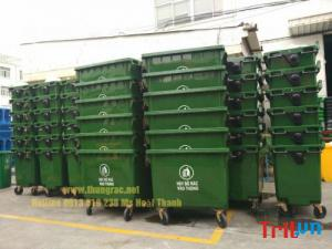 Cc thùng rác 660 lít các loại trên toàn quốc 0913 819 238 Thanh