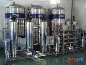 Chuyển giao hệ thống lọc nước đóng bình trị giá 350 triệu