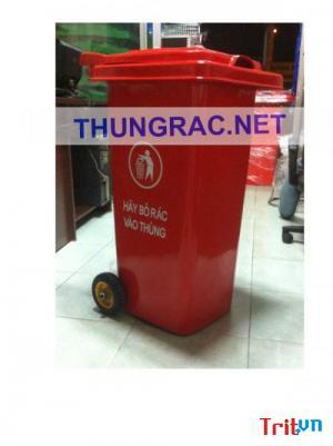 Giá thùng rác 240 lít - thùng rác 240l quận 8 Ms Hoài Thanh