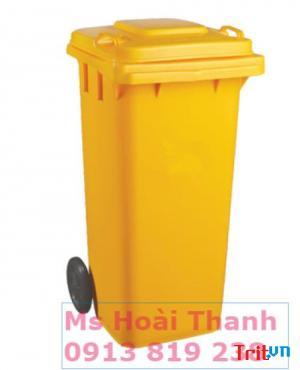 Pp thùng rác nhựa 120 lít nhựa HDPE - giao hàng Toàn Quốc