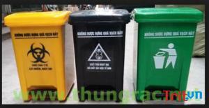 Cc thùng rác y tế 15 lít - Thùng rác y tế tp hcm giao hàng miễn phí