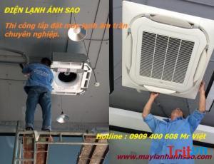 Lắp đặt máy lạnh âm trần khu đô thị - Báo giá nhanh khảo sát lắp đặt chuyên nghiệp máy lạnh âm trần  Daikin 2.5Hp