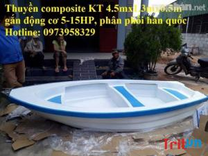 Bán thuyền composite giá tốt tại Hồ Chí Minh