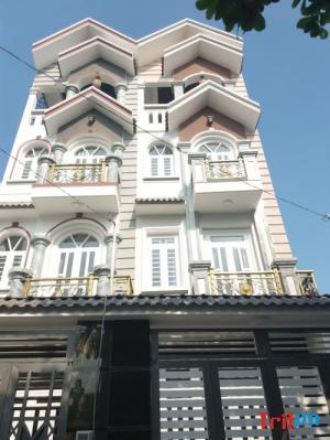 Bán nhà Lê Văn Quới, 4 tấm 4x14m hẻm 6m thông Mã Lò