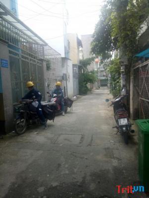 Chính chủ đứng ra bán căn nhà Hồ Đắc Di, tân Phú, dt: 4x19,5, 4,2 tỷ
