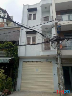 Cho thuê nhà nguyên căn đường Nguyễn Cửu Đàm, tân phú, dt: 4x14, giá 18tr/ tháng
