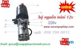 Bộ nguồn thủy lực mini power unit