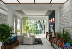 Mẹo trang trí nội thất cho nhà phố đơn giản đẹp lung linh