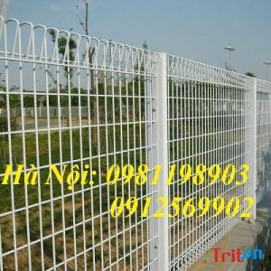 Lưới hàng rào sơn tĩnh điện, nhận báo giá, sản xuất lắp đặt lưới hàng rào