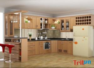 Thiết kế tủ bếp chữ u cho không gian căn bếp độc đáo