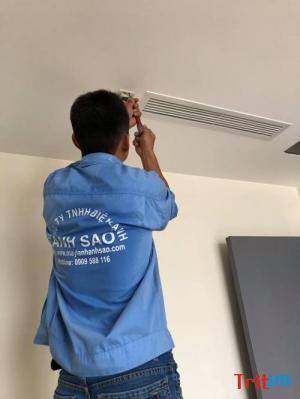 Đơn vị thầu lắp đặt máy lạnh giấu trần nối ống gió cho biệt thự,villa,nhà phố cao cấp tại quận 7