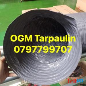Ống gió mềm Vải Tarpaulin D300 - Giá Cực Rẻ