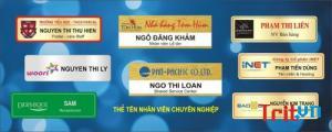 Thiên Nam Adv chuyên thẻ tên nhân viên