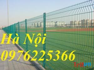 Hàng rào lưới D5A50x200mm, khóa thông minh