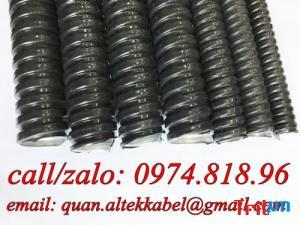 ống ruột gà lõi thép bọc nhựa PVC bảo vệ dây siêu bền