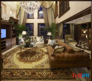 Phong cách sang trọng trong thiết kế nội thất cổ điển