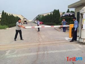 Barrier thanh chắn giao thông hài lòng về chất lượng và phục vụ