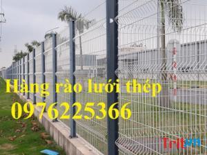 Sản xuất hàng rào lưới thép, hàng rào sơn tĩnh điện, hàng rào mạ kẽm