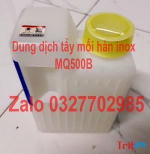 Sỉ lẻ chất tẩy mối hàn inox, tẩy rỉ sét inox narden mq500