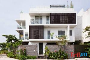 Ngôi nhà 42m2 tiện nghi, đón nắng gió tự nhiên