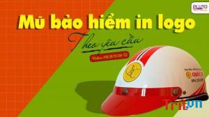 Mũ bảo hiểm in logo quảng cáo và những điều chưa biết