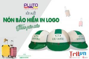 Mũ bảo hiểm in logo quà tặng uy tín, chất lượng